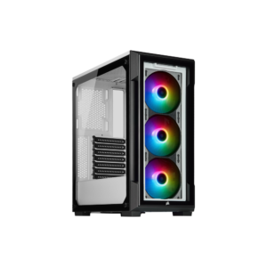 Corsair iCUE 220T RGB Tempered Glass White - Boitier - Atlas Gaming
