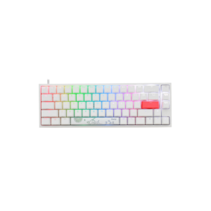 Ducky Channel One 2 SF RGB Blanc - Speed Silver Switch - Clavier - Atlas Gaming